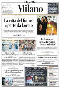 la Repubblica Milano - 2 Novembre 2019