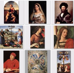 Рафаэль (180 картин) | Raphael (180 pictures)