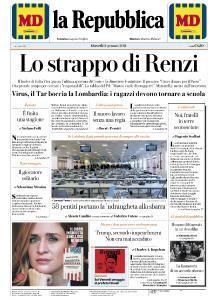la Repubblica - 14 Gennaio 2021