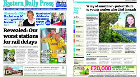 Eastern Daily Press – October 22, 2018