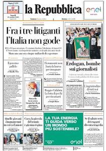 la Repubblica - 14 Ottobre 2019