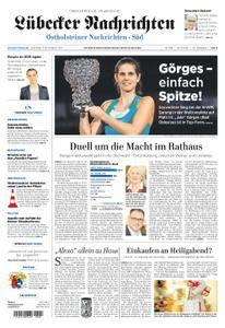 Lübecker Nachrichten Ostholstein Süd - 07. November 2017