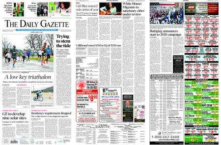 The Daily Gazette – April 15, 2019