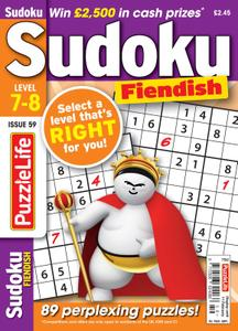 PuzzleLife Sudoku Fiendish – 01 January 2021