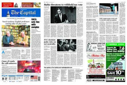 The Capital – December 15, 2017
