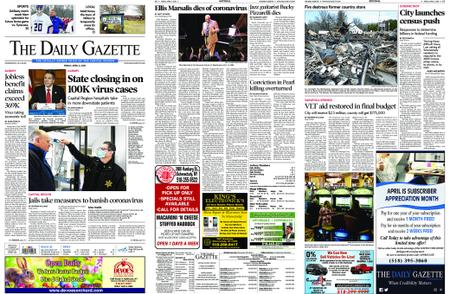 The Daily Gazette – April 03, 2020
