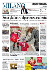 Corriere della Sera Milano – 13 dicembre 2020