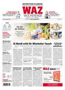 WAZ Westdeutsche Allgemeine Zeitung Oberhausen-Sterkrade - 08. September 2018