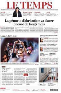 Le Temps - 28 mars 2019