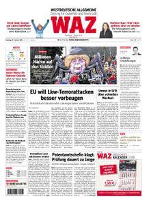 WAZ Westdeutsche Allgemeine Zeitung Oberhausen-Sterkrade - 13. Februar 2018
