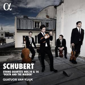 "Quatuor Van Kuijk - Schubert: Quartets Nos. 10 & 14 ""Death and the Maiden"" (2018) [Official Digital Download 24/192]"