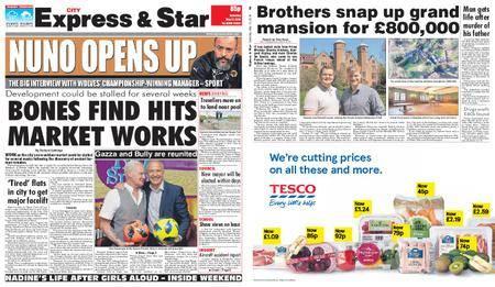 Express and Star City Edition – May 12, 2018