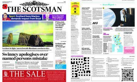 The Scotsman – November 09, 2017