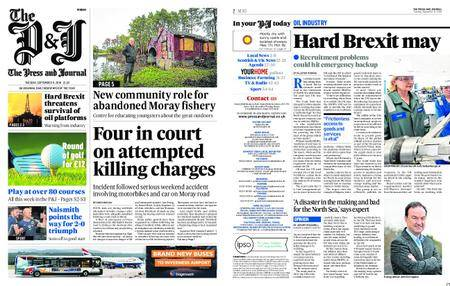The Press and Journal Moray – September 11, 2018