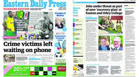 Eastern Daily Press – March 31, 2018
