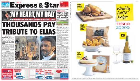 Express and Star City Edition – March 09, 2018