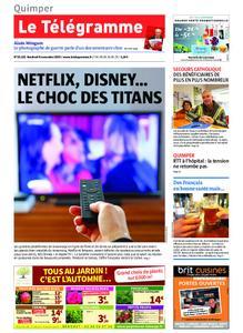 Le Télégramme Quimper – 08 novembre 2019