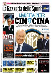 La Gazzetta dello Sport Roma – 19 novembre 2018