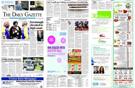 The Daily Gazette – October 07, 2018