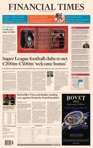 Financial Times Middle East - April 20, 2021