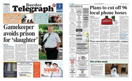 Border Telegraph – August 21, 2019
