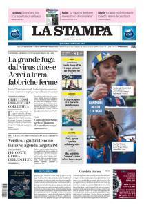 La Stampa Torino Provincia e Canavese - 30 Gennaio 2020