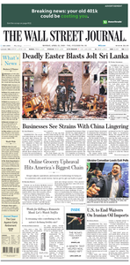 The Wall Street Journal – 22 April 2019