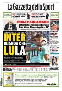 La Gazzetta dello Sport Roma – 21 ottobre 2019