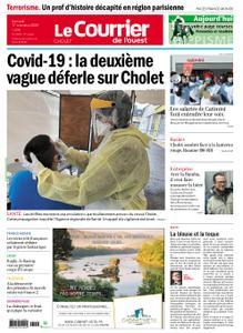 Le Courrier de l'Ouest Cholet – 17 octobre 2020