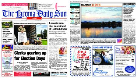 The Laconia Daily Sun – August 14, 2020