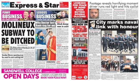 Express and Star City Edition – October 01, 2019
