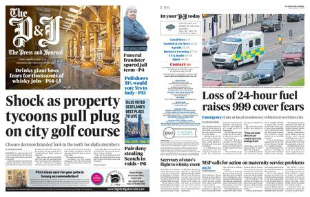 The Press and Journal Moray – January 31, 2020