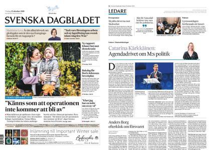 Svenska Dagbladet – 22 oktober 2019