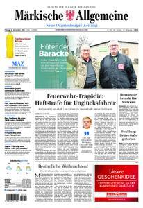 Neue Oranienburger Zeitung - 14. Dezember 2018