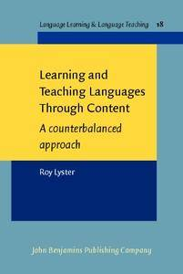 Learning and Teaching Languages Through Content: A counterbalanced Approach