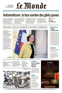 Le Monde du Mardi 19 Février 2019