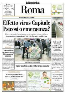 la Repubblica Roma - 25 Febbraio 2020