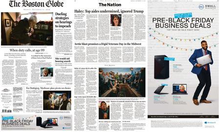 The Boston Globe – November 11, 2019