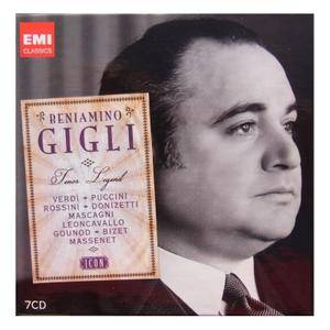 Beniamino Gigli - Tenor Legend (2010) (7 CD Box Set)