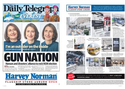 The Daily Telegraph (Sydney) – October 11, 2018