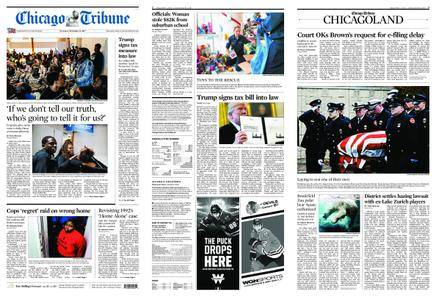 Chicago Tribune – December 23, 2017