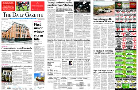 The Daily Gazette – December 02, 2019