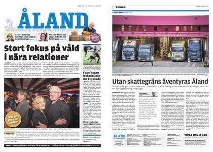 Ålandstidningen – 03 februari 2020
