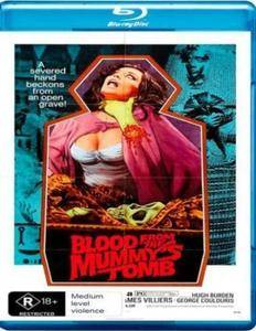 Blood from the Mummy's Tomb (1971) + Extras