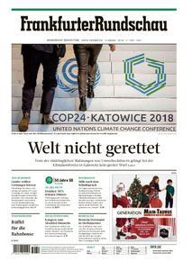 Frankfurter Rundschau Main-Taunus - 17. Dezember 2018