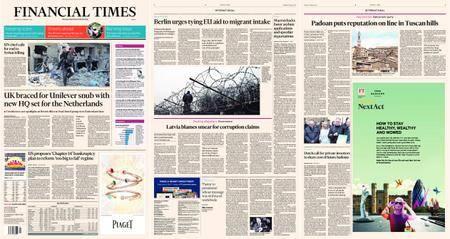 Financial Times Europe – 22 February 2018