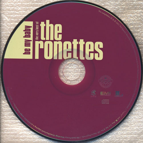 The Ronettes - Be My Baby: The Very Best Of... (2011) {Phil Spector/Legacy}