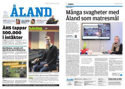 Ålandstidningen – 15 december 2018