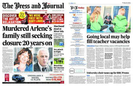 The Press and Journal Moray – April 28, 2018