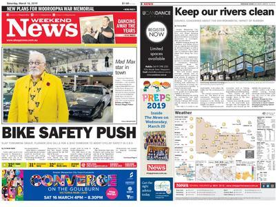 Shepparton News – March 16, 2019